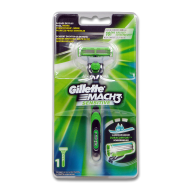 Gillette Mach3 Sensitive Rasierer