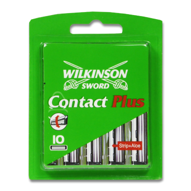 Wilkinson Contact Plus Rasierklingen, 10er Pack